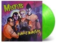 Misfits - Famous Monsters (ltd transparent grün/gelbes Vinyl