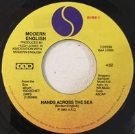 Modern English - Hands Across The Sea