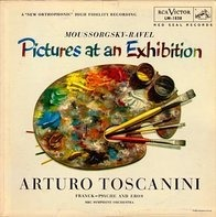 Mussorgsky, Ravel,... - Pictures At An Exhibition / Psyche And Eros (Toscanini)