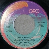 Moe Bandy - It Was Always So Easy / I Wouldn't Cheat On Her If She Was Mine