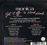 Monica - Get It Off (feat. Dirtbag) / Knock Knock