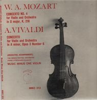 Mozart - Concerto No.4 for violion and orchestra in d major k. 218