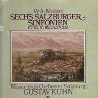 Mozart - Sechs Salzburger Sinfonien Kv 162, 181, 182, 318, 319, 338