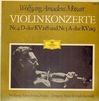 Mozart - Violinkonzerte Nr.4 D-dur KV 218 und Nr.5 A-dur KV 219