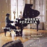 Murray Perahia - Mendelssohn: Lieder ohne Worte / Bach: Choralvorspiele / Schubert (arr. Liszt): Lieder