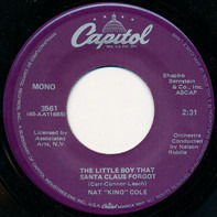 Nat King Cole - The Christmas Song (Merry Christmas To You) / The Little Boy That Santa Claus Forgot