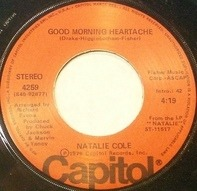 Natalie Cole - Sophisticated Lady (She's A Different Lady) / Good Morning Heartache
