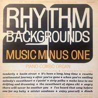 NBC Rhythm Section - Music Minus One Rhythm Backgrounds Piano Combo Organ