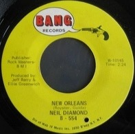 Neil Diamond - New Orleans / Hanky Panky