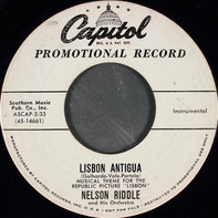 Nelson Riddle And His Orchestra - Lisbon Antigua