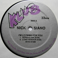 Nicky Siano - I'm Looking For You