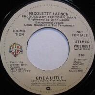 Nicolette Larson - Give A Little
