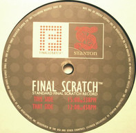 Scratch Noises Sampler - Stanton Final Scratch Control Record Standard Version