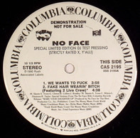 No Face - Strictly Rated X, Y'All!