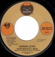 Norma Jean Wright - High Society / Hold Me Lonely Boy