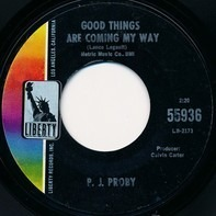 P.J. Proby - Niki Hoeky / Good Things Are Coming My Way