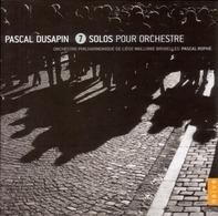 Pascal/OP DE Liege Wallonie Bruxelles Rophe - 7 solos pour orchestre