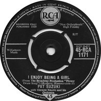 Pat Suzuki With George Siravo And His Orchestra - I Enjoy Being A Girl