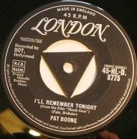 Pat Boone - I'll Remember Tonight