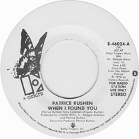 Patrice Rushen - When I Found You