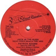 Patrick Adams Featuring Larri Lee - Jack In The Bush