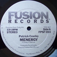 Patrick Cowley - menergy / i wanna take you home