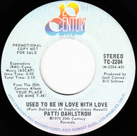 Patti Dahlstrom - Used To Be In Love With Love