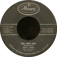 Patti Page - Old Cape Cod / Wondering