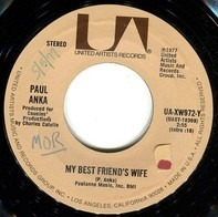 Paul Anka - My Best Friend's Wife / Never Gonna Fall In Love Again
