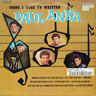 Paul Anka - Songs I Wish I'd Written