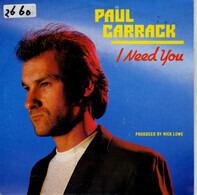 Paul Carrack - I Need You