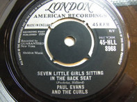 Paul Evans And The Curls - Seven Little Girls Sitting In The Back Seat