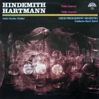 Paul Hindemith - Karl Amadeus Hartmann / André Gertler (Violin), The Czech Philharmonic Orchestra , - Violin Concertos