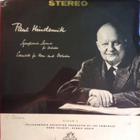 Paul Hindemith , Philharmonia Orchestra , Dennis Brain - Symphonia Serena for Orchestra / Concerto for Horn and Orchestra