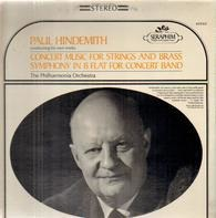 Paul Hindemith - Concert Music for Strings and Brass, Symph on B Flat for Concert Band, The Philh Orch, Hindemith