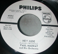 Paul Mauriat And His Orchestra - Those Were The Days / Hey Jude