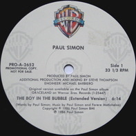 Paul Simon - The Boy In The Bubble (Extended Version)