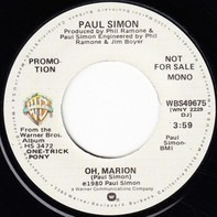 Paul Simon - Oh, Marion / God Bless The Absentee