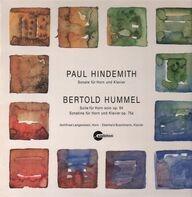 Paul Hindemith / Bertold Hummel - Gottfried Langenstein , Eberhard Buschmann - Sonate Für Horn Und Klavier / Suite Für Horn Solo Op. 64, Sonatine Für Horn Und Klavier Op. 75a