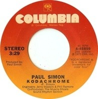 Paul Simon - Kodachrome / Tenderness