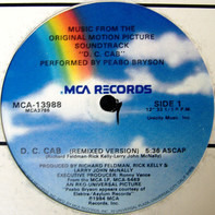 """Peabo Bryson - Music From The Original Motion Picture Soundtrack """"D. C. Cab"""""""