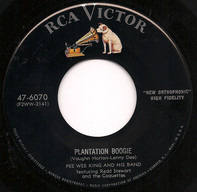Pee Wee King & His Band - Plantation Boogie / Jim, Johnny And Jonas
