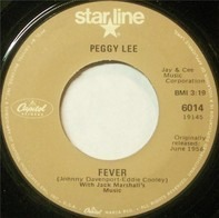 Peggy Lee - Fever / Alright, Okay, You Win