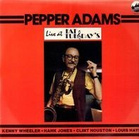 Pepper Adams - Live At Fat Tuesday's