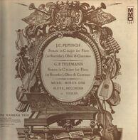 Pepusch / Telemann - Sonata in C major f flute / Sonata in C major f flute, oboe & continuo