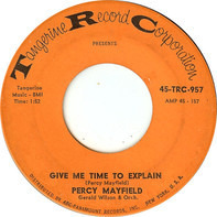 Percy Mayfield - Give Me Time To Explain