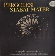 Pergolesi - Stabat Mater,, mathieu lange, südwestdeutsches kammerorch