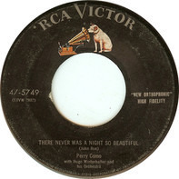 Perry Como - Hit And Run Affair / There Was Never A Night So Beautiful