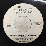"""Pete Rugolo - Theme From """"Thriller"""" / Girl with a secret"""