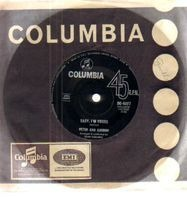 Peter And Gordon - Baby, I'm Yours / When The Black Of Your Eyes Turn To Grey